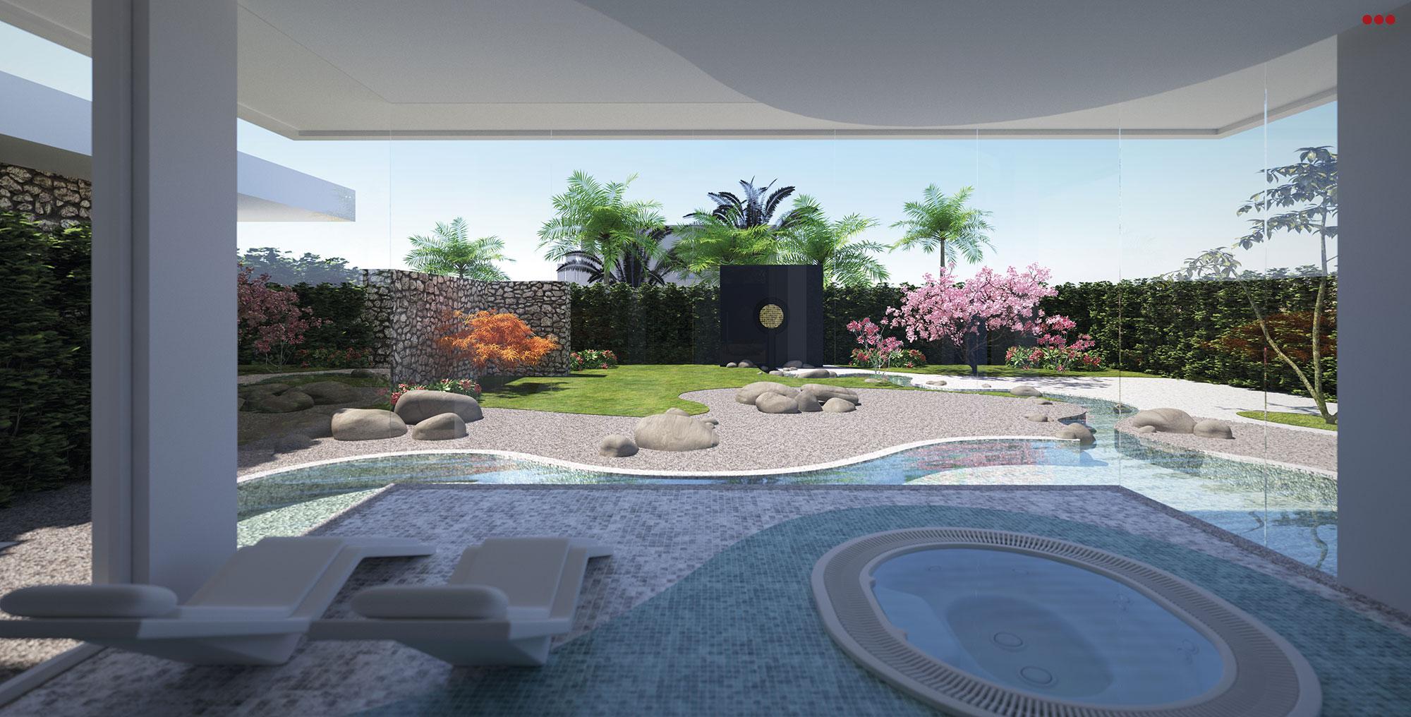 3D Studio Bartolini Villa Pemba progettazione rendering architettura grafica 10