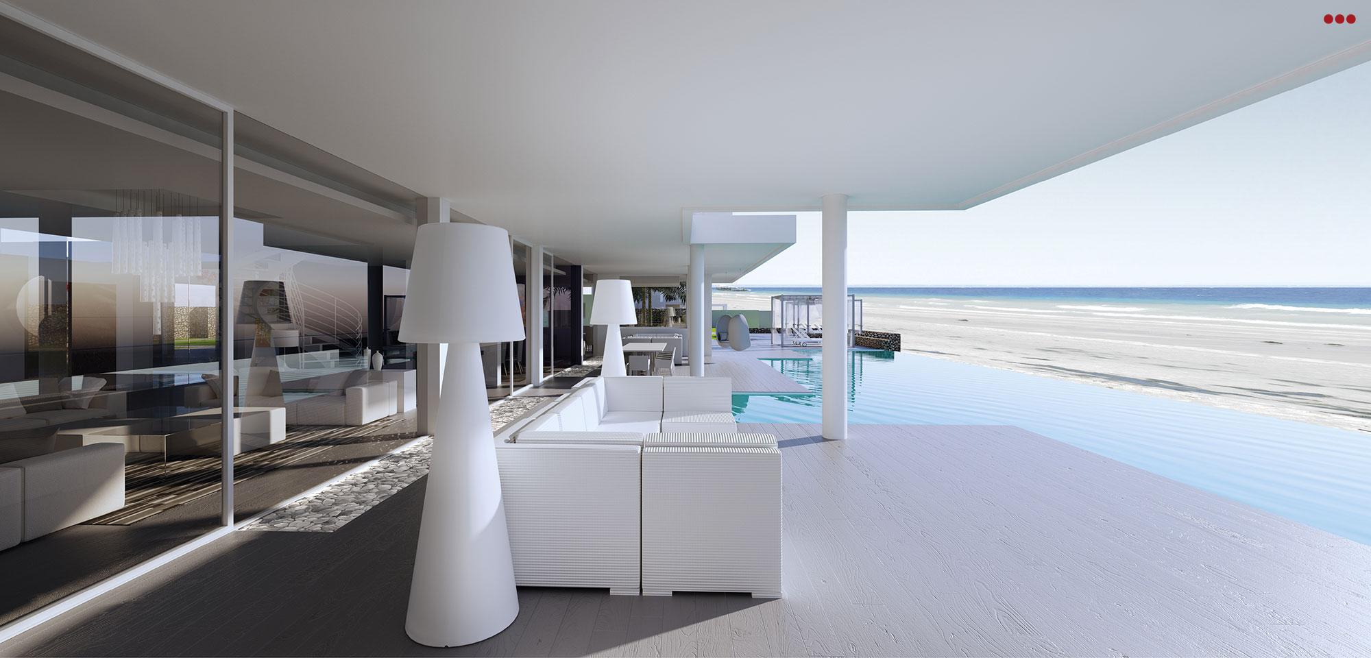 3D Studio Bartolini Villa Pemba progettazione rendering architettura grafica 11