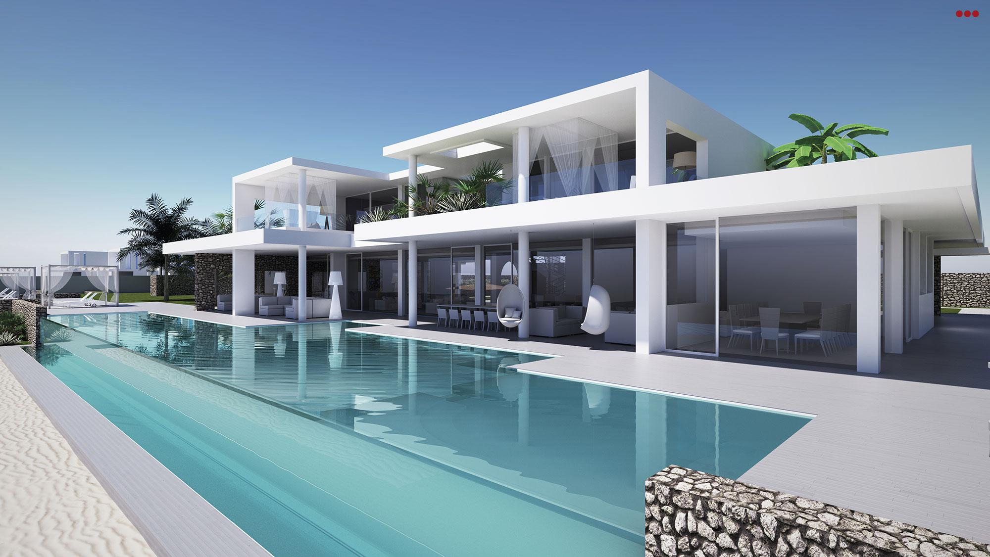 Villa pemba 3d studio bartolini grafica e rendering 3d for Interni architettura