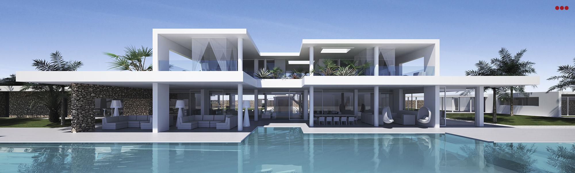 3D Studio Bartolini Villa Pemba progettazione rendering architettura grafica 13