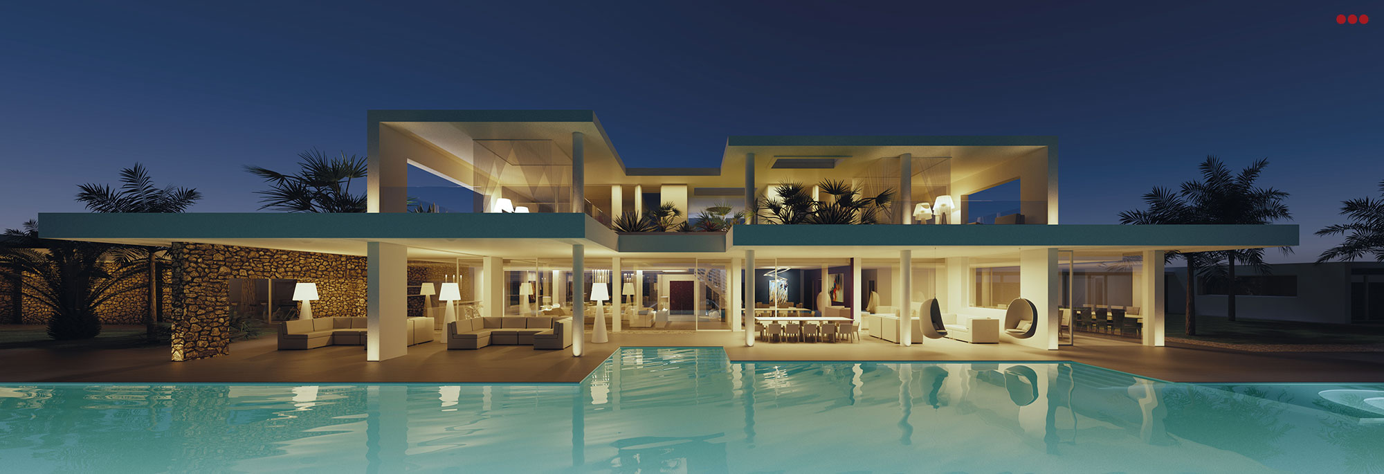 3D Studio Bartolini Villa Pemba progettazione rendering architettura grafica 14