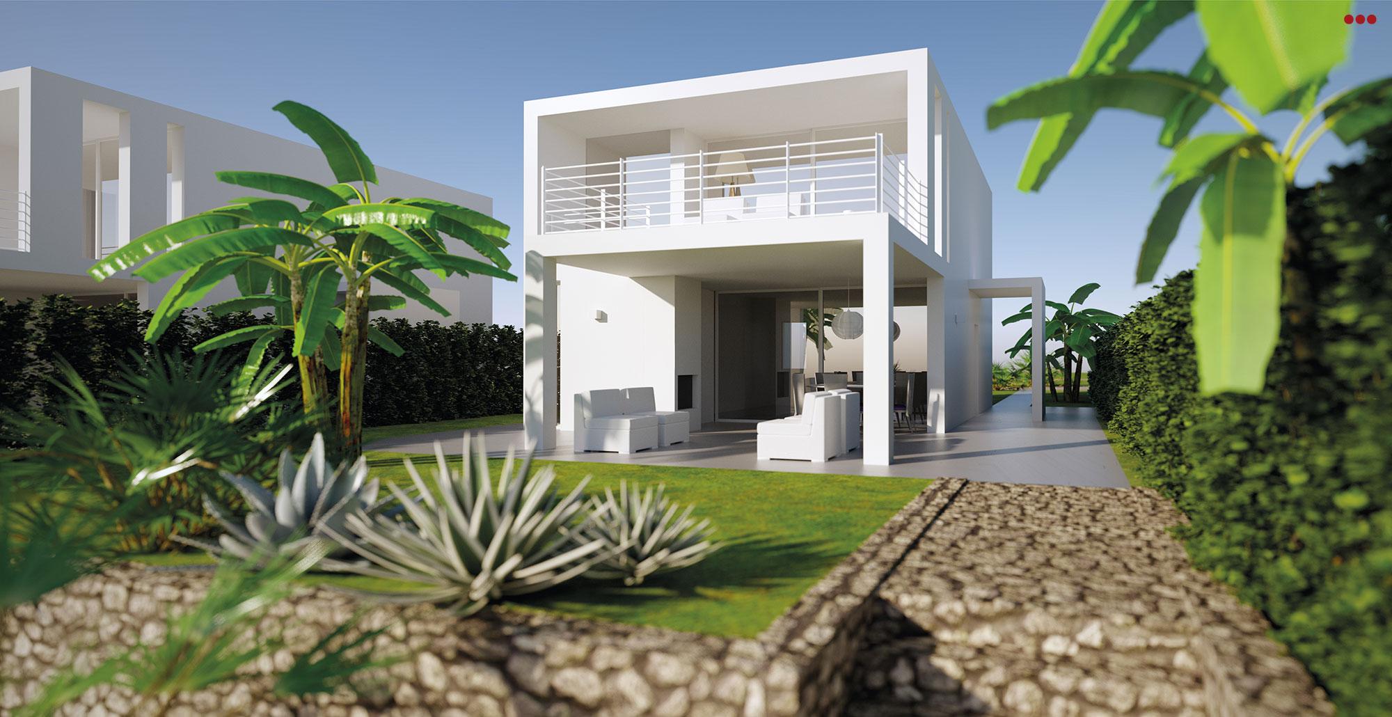 3D Studio Bartolini Villa Pemba progettazione rendering architettura grafica 15