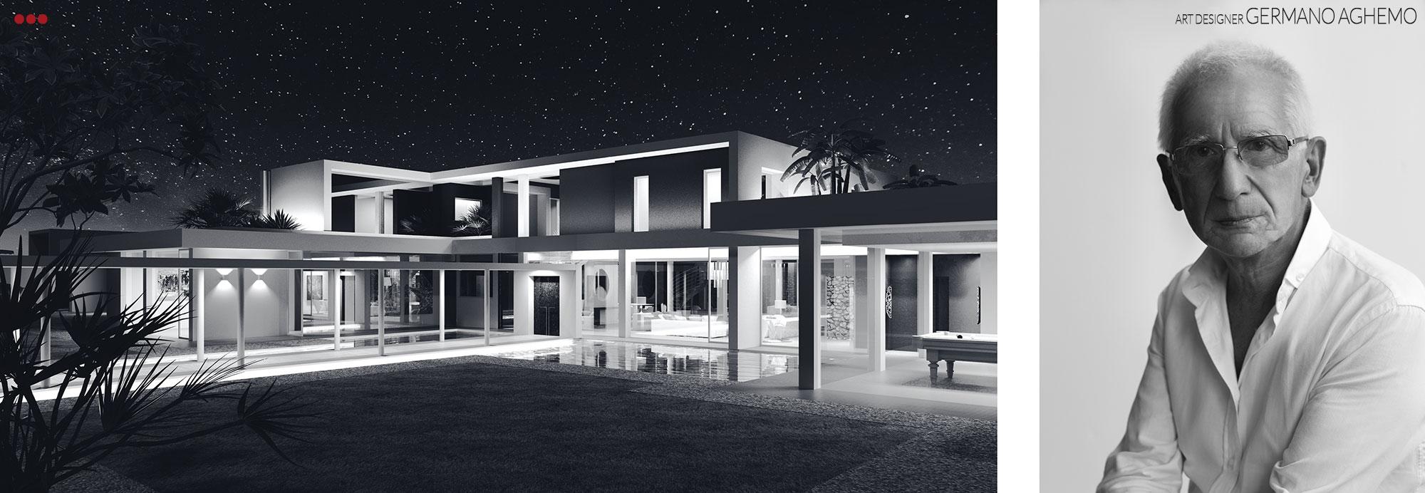 3D Studio Bartolini Villa Pemba progettazione rendering architettura grafica 16