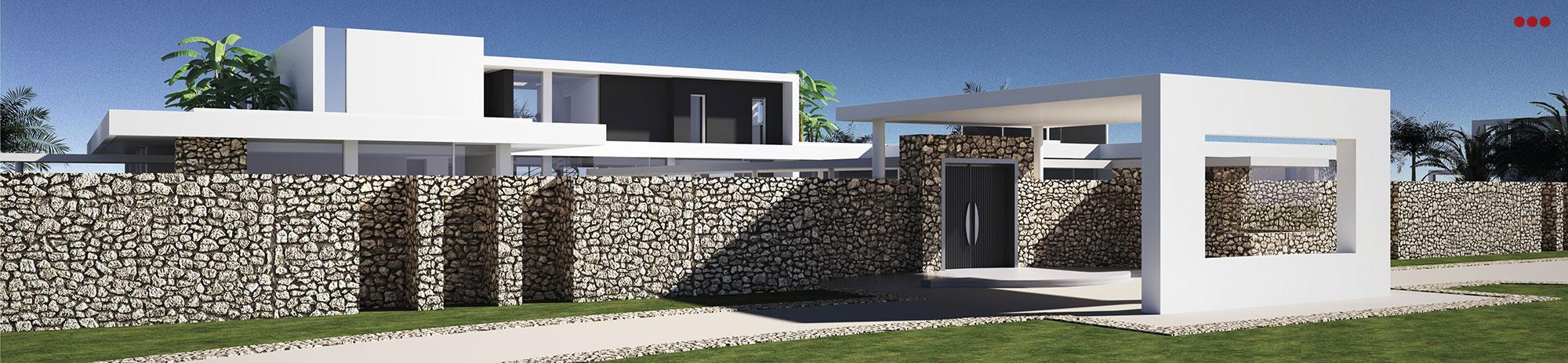 3D Studio Bartolini Villa Pemba progettazione rendering architettura grafica 2