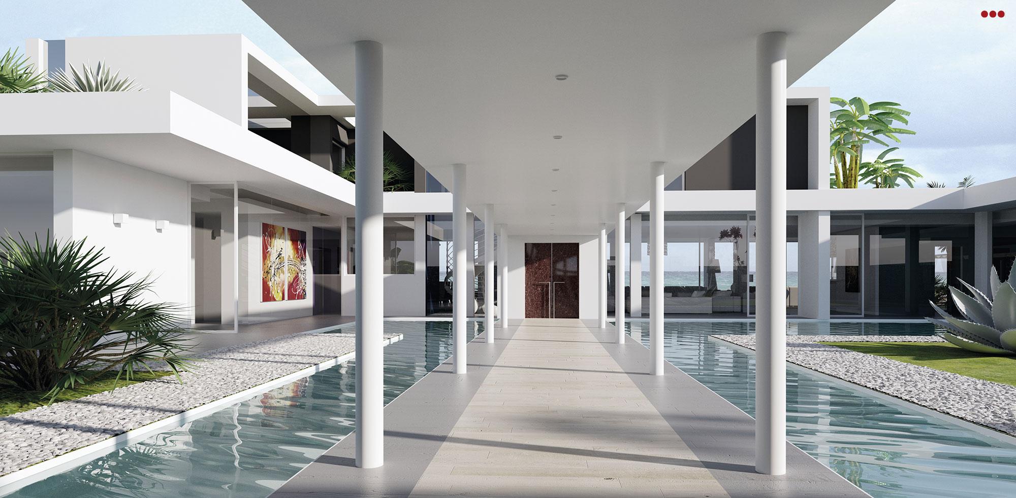 3D Studio Bartolini Villa Pemba progettazione rendering architettura grafica 3
