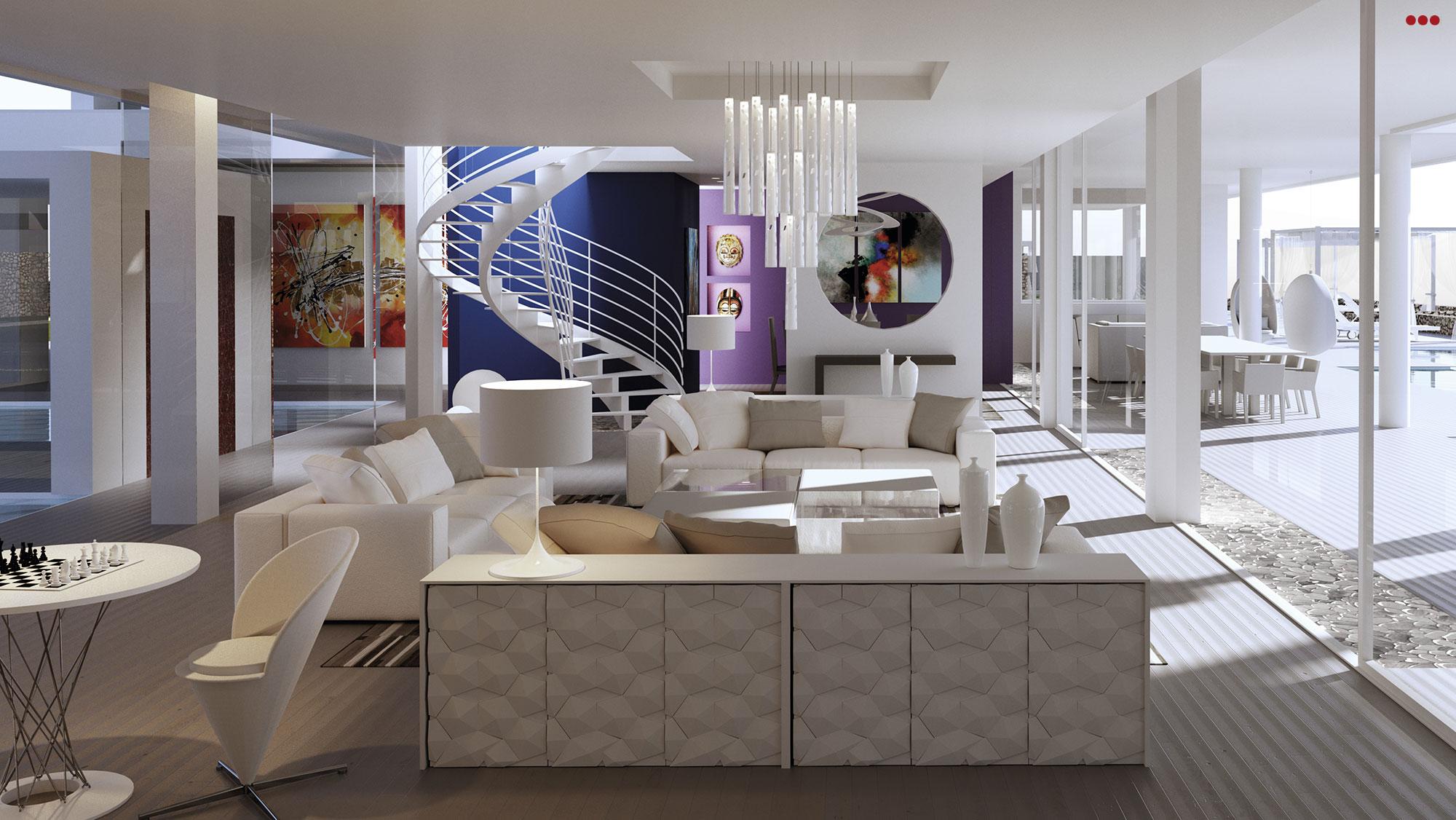 3D Studio Bartolini Villa Pemba progettazione rendering architettura grafica 6
