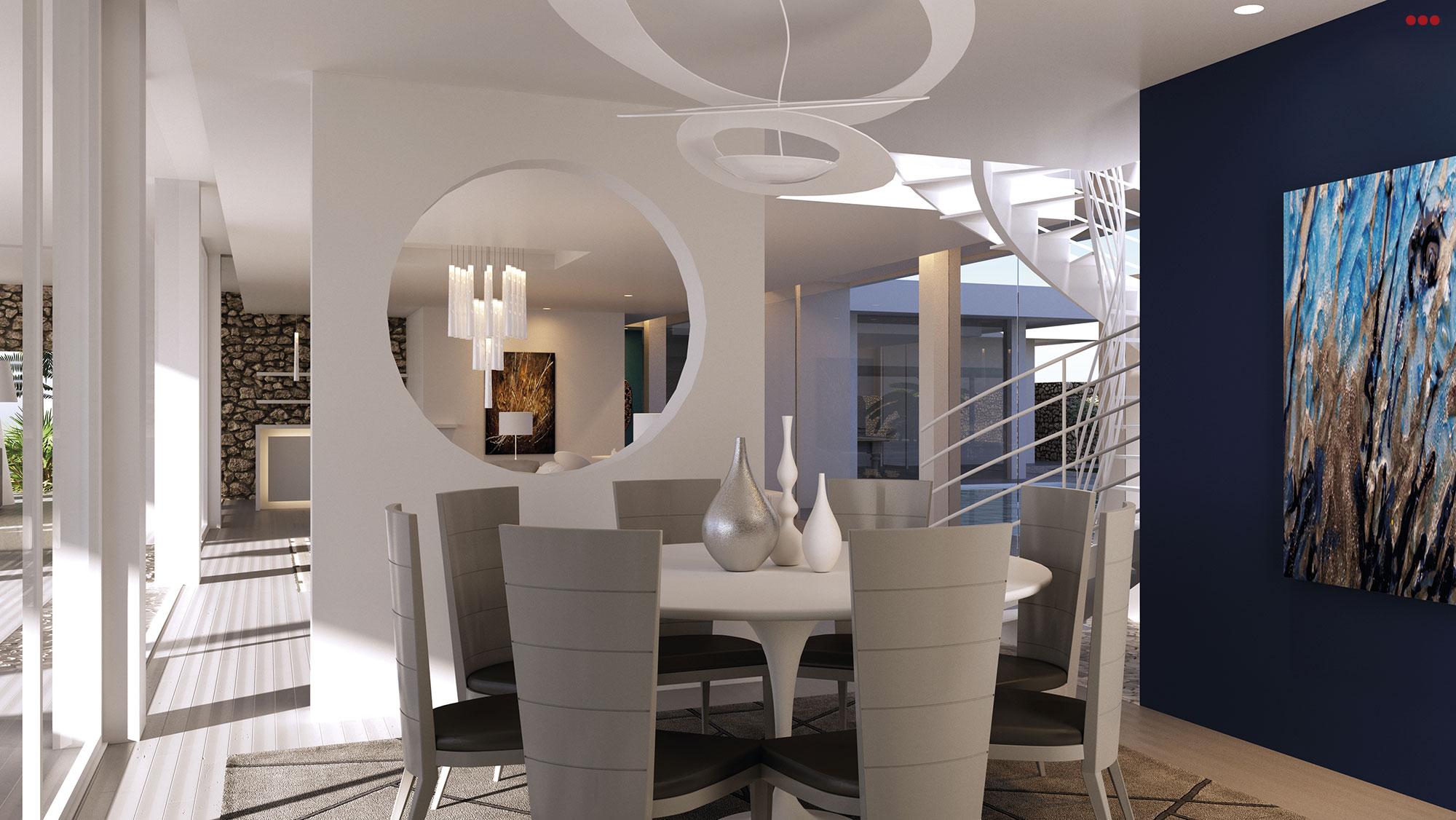 3D Studio Bartolini Villa Pemba progettazione rendering architettura grafica 7