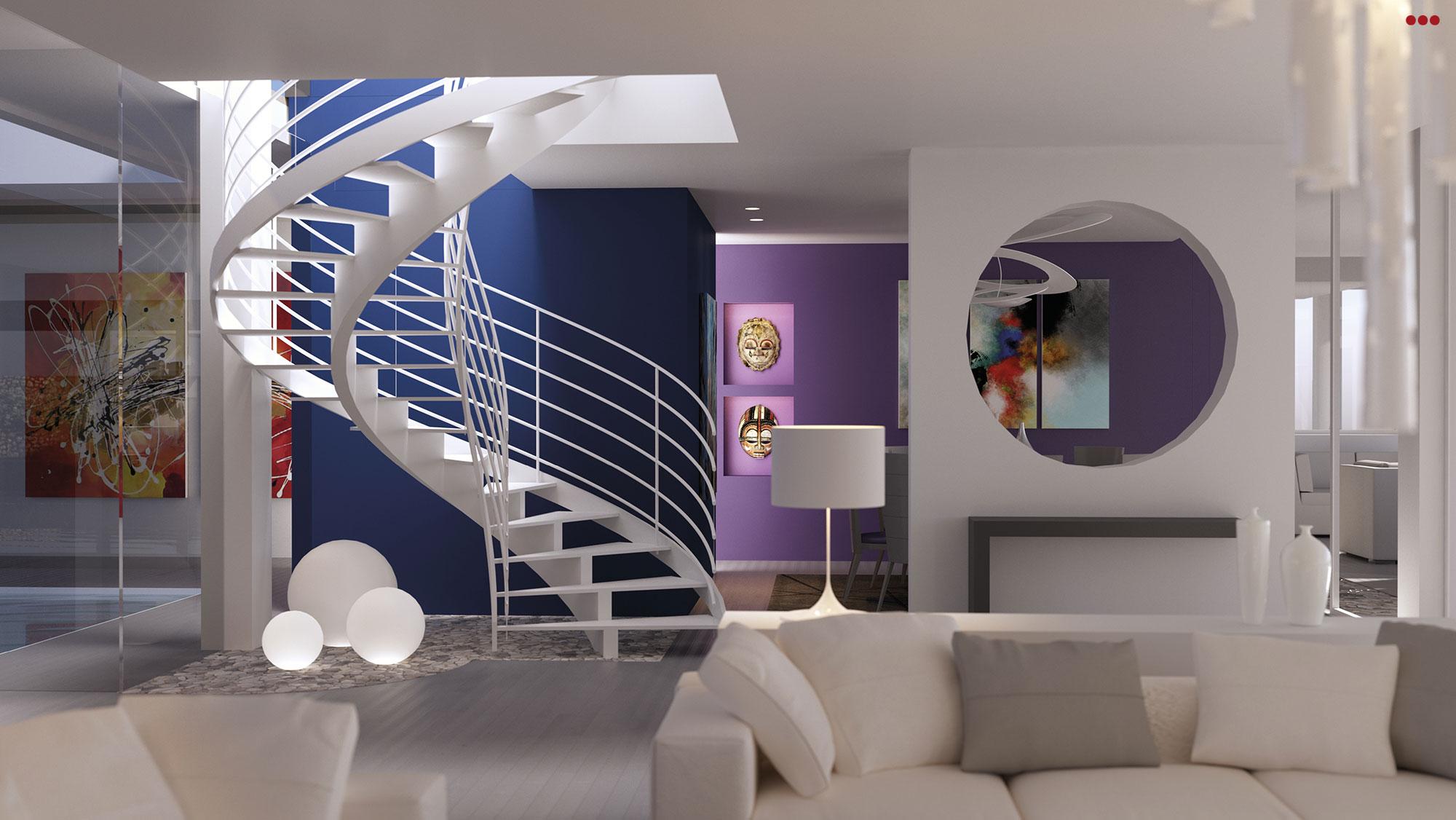 3D Studio Bartolini Villa Pemba progettazione rendering architettura grafica 8