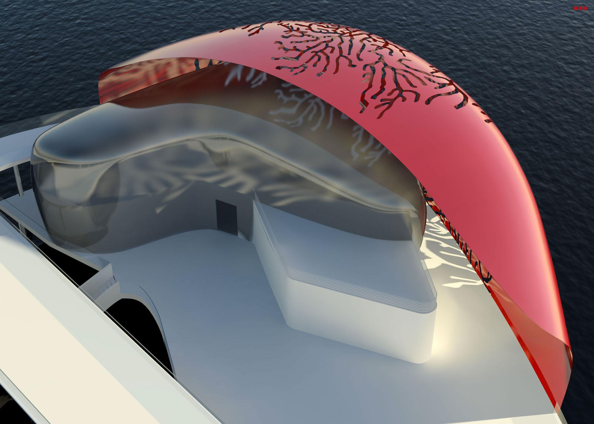 Surdio Bartolini progetto isola porto canale cattolica rimini grafica rendering modeling 3d 1