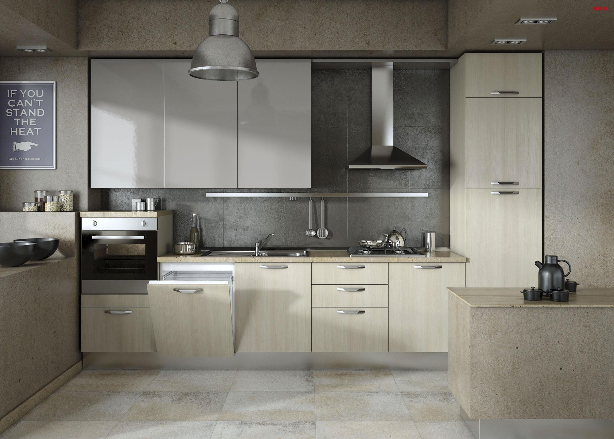 3D Studio Bartolini progettazione grafica cucine interior design Glossy Rimini Pesaro