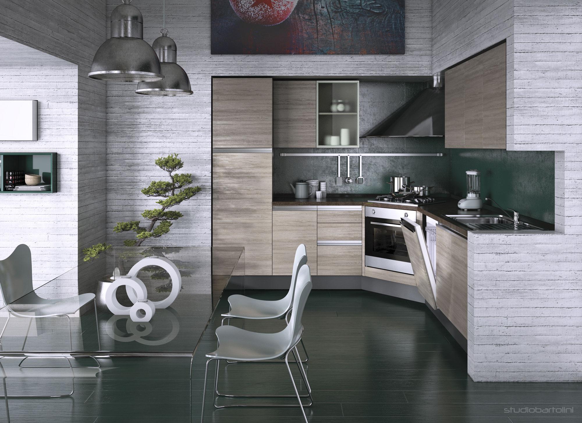 3D Studio Bartolini progettazione rendering cataloghi ...