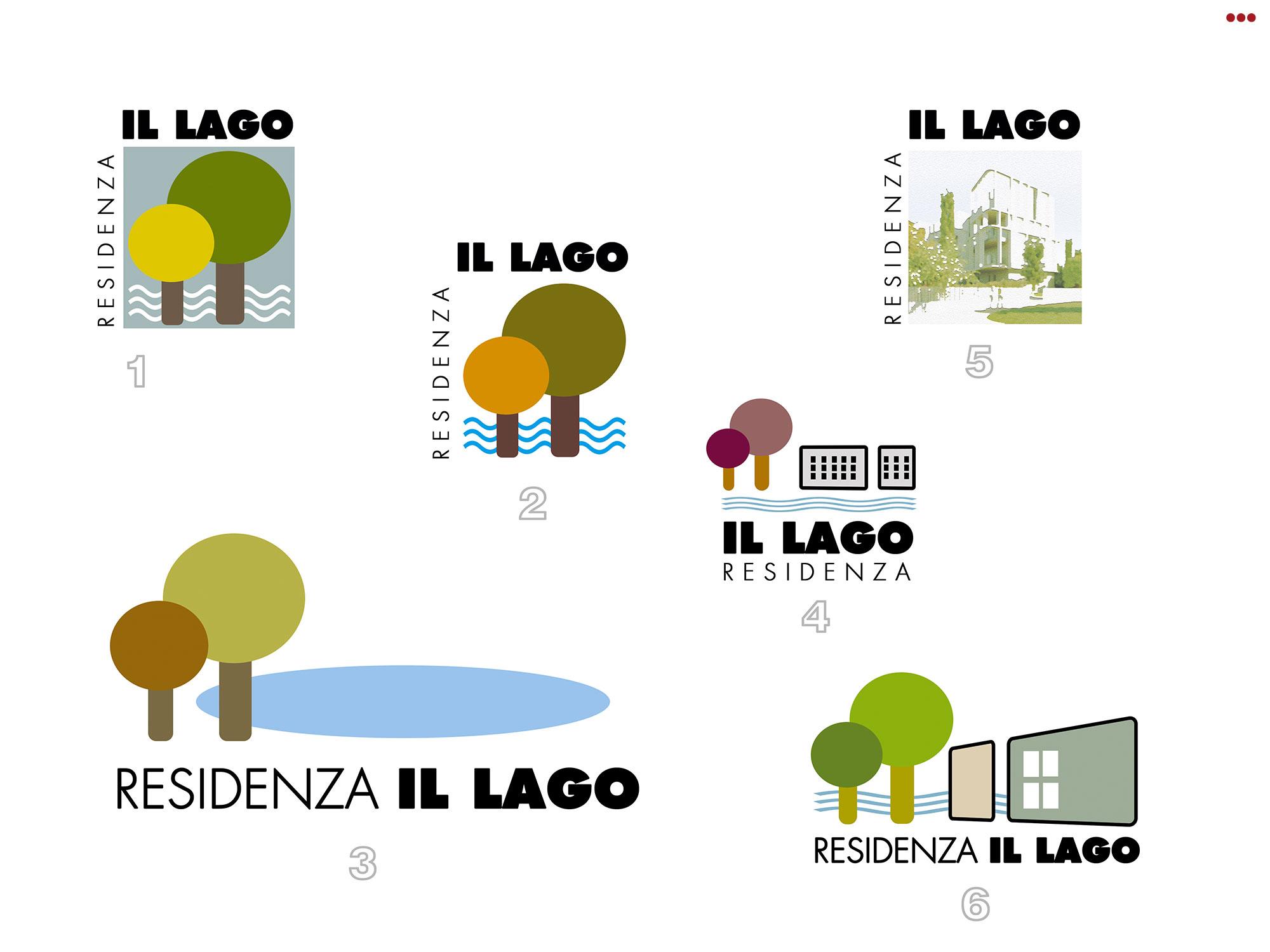 Studio Bartolini logo immagini coordinate grafica logo residenza il lago