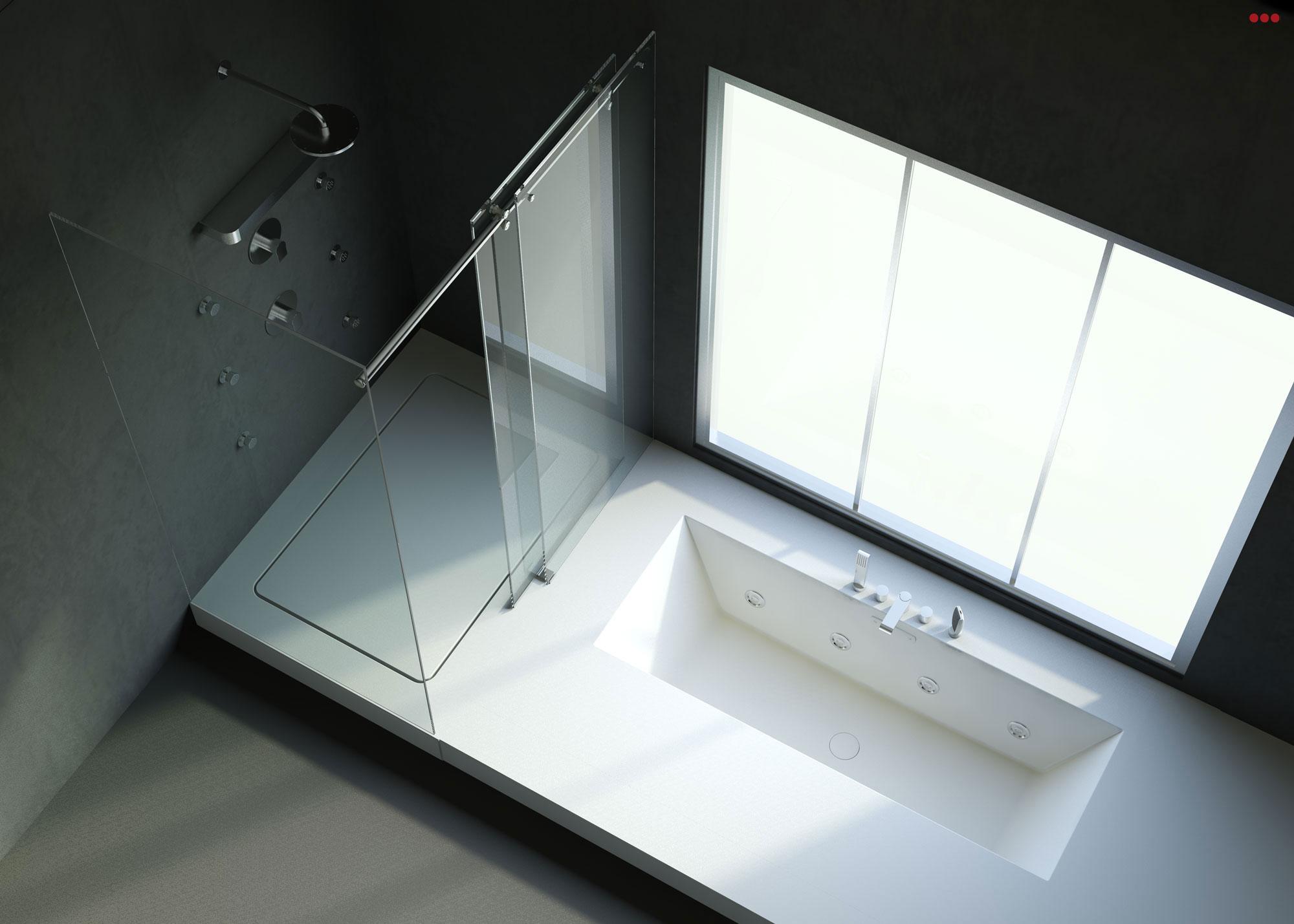 Studio Bartolini progettazione rendering 3D arredo bagno Morciano Rimini 3