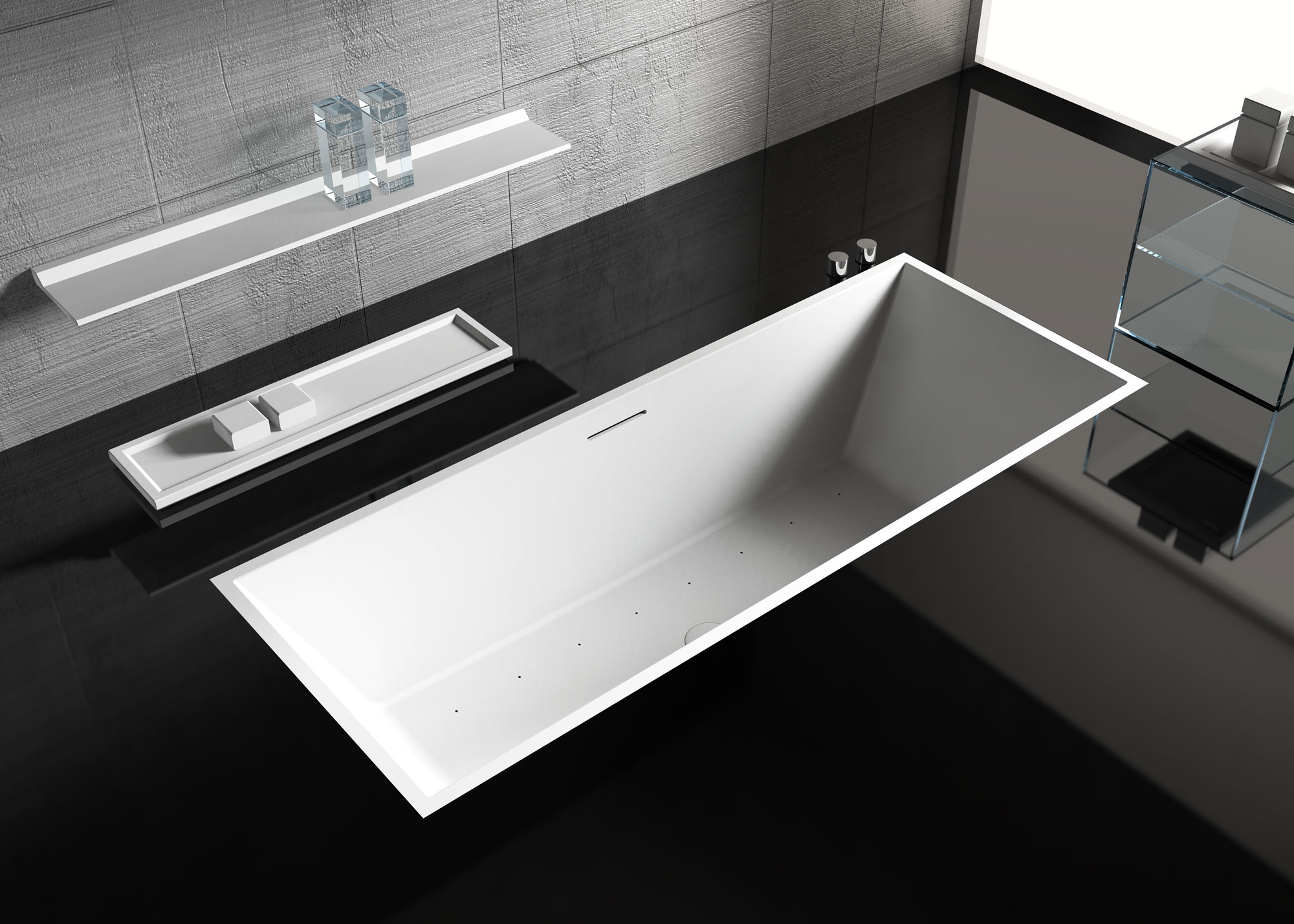 Studio bartolini progettazione rendering d arredo bagno morciano