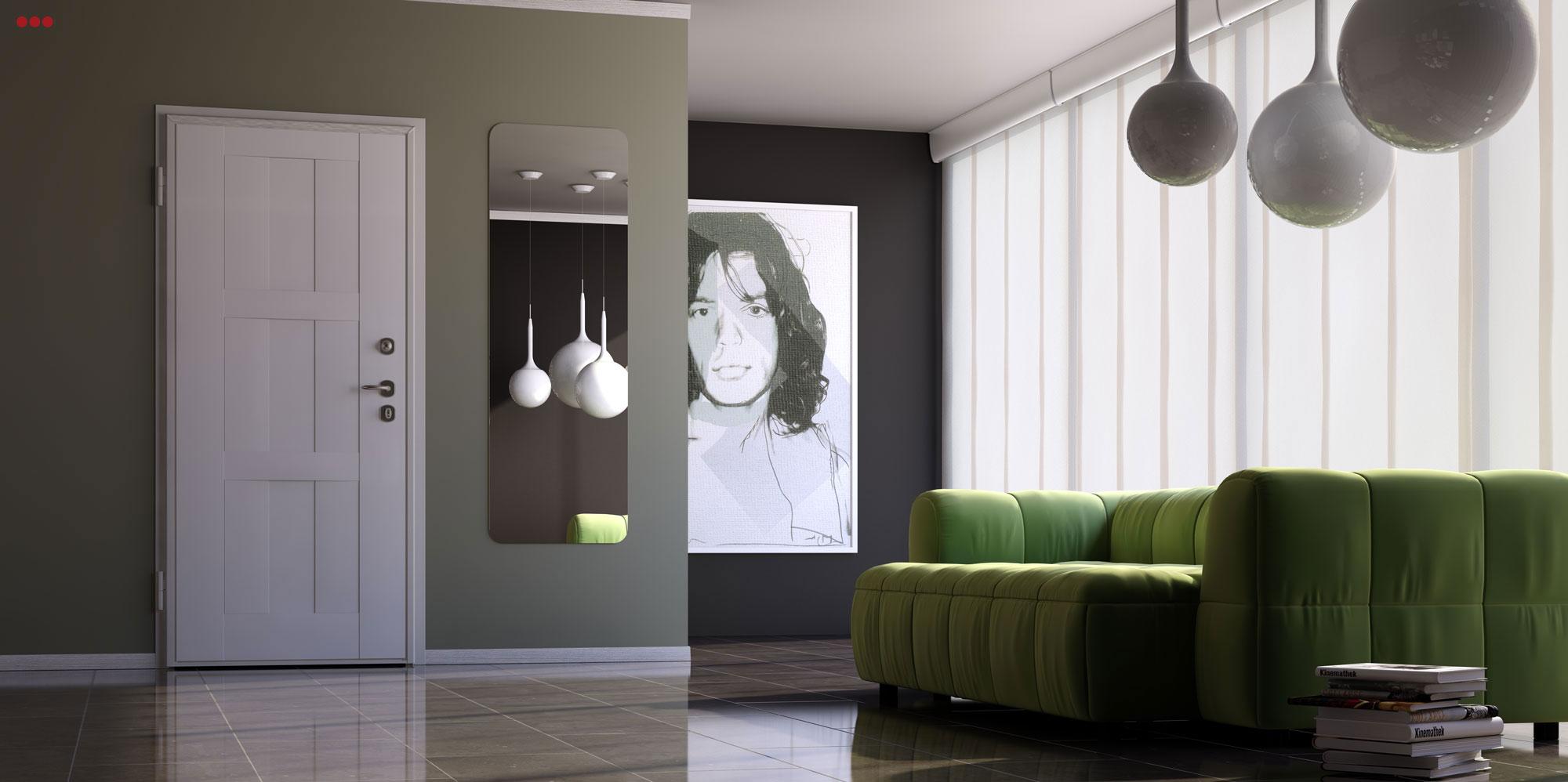 Studio Bartolini progettazione rendering 3D living interno ambiente camera main 2 bogota cam2 rev 2