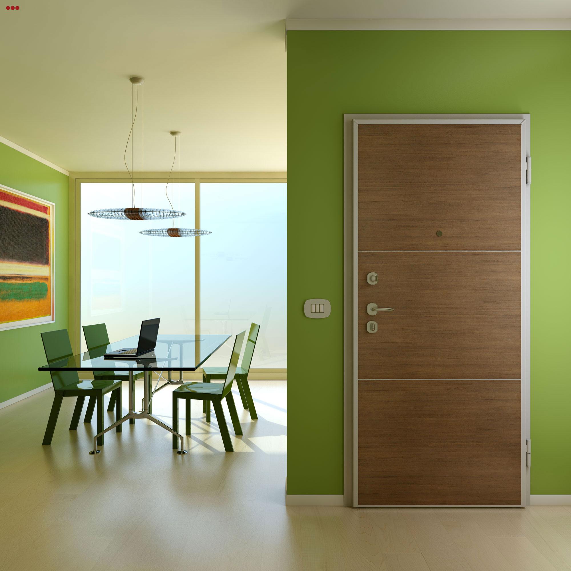 Studio Bartolini rendering fotografico modeling 3d ufficio verde moderno design area lavoro open space cam VFB Plus Main