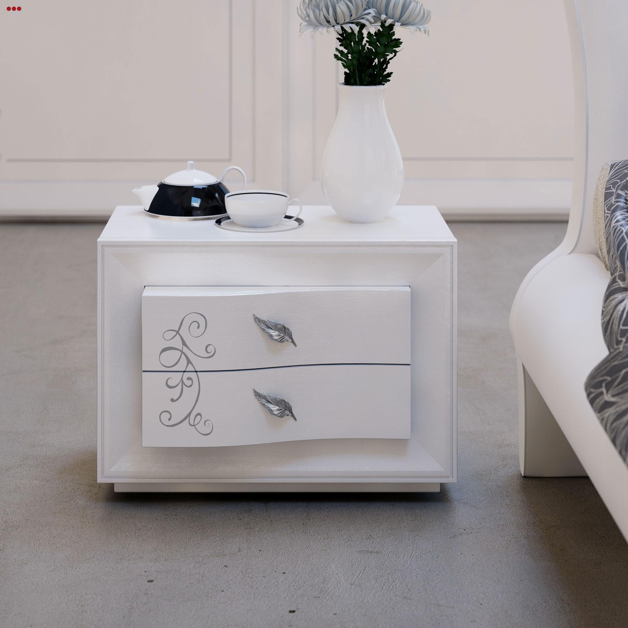Studio Bartolini rendering progettazione 3d mobile classico catalogo euro design 2013 camera M comodino