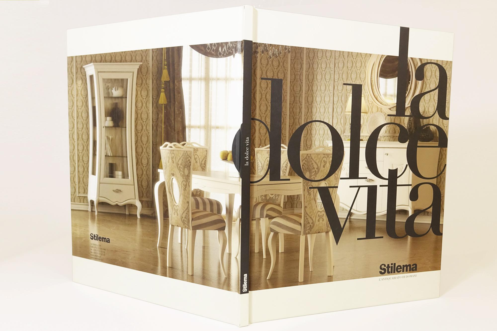 studio bartolini cataloghi grafici rendering 3D Stilema la Dolce Vita Urbino Mobile classico 2